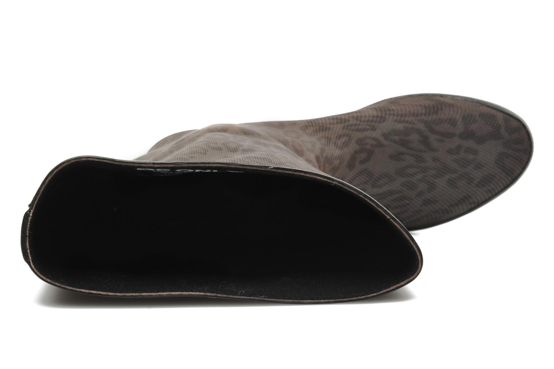 Stiefel Be Only Reptilium braun ansicht von links