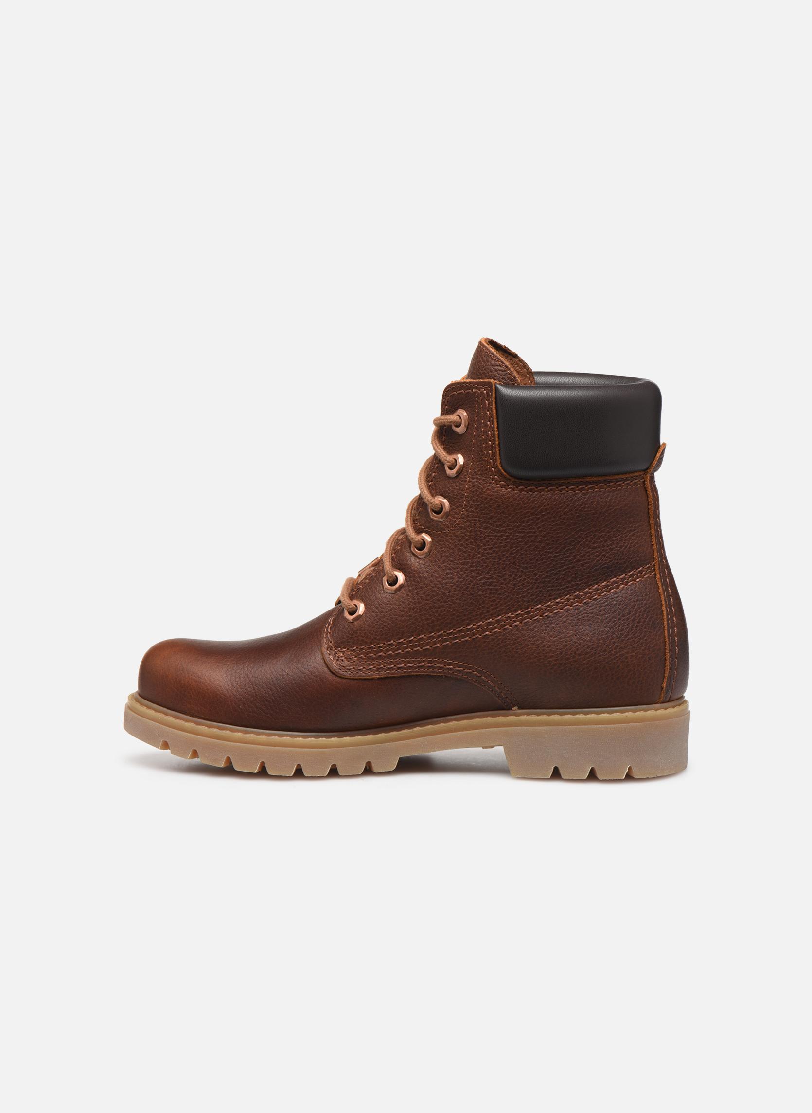 Bottines et boots Panama Jack Panama 03 W Marron vue face