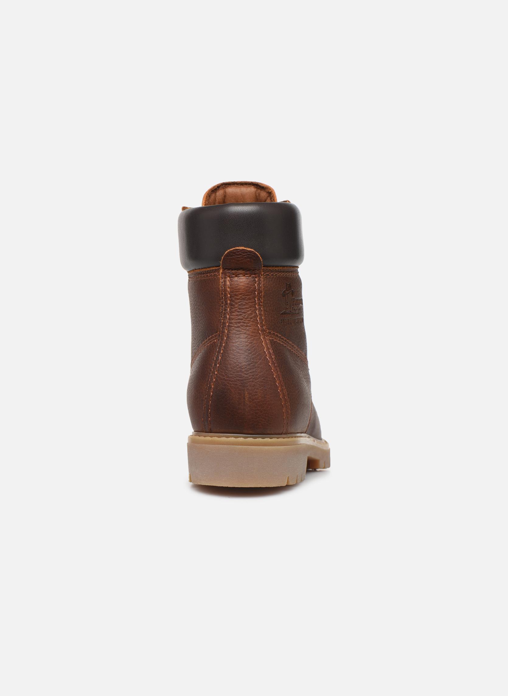 Bottines et boots Panama Jack Panama 03 W Marron vue droite