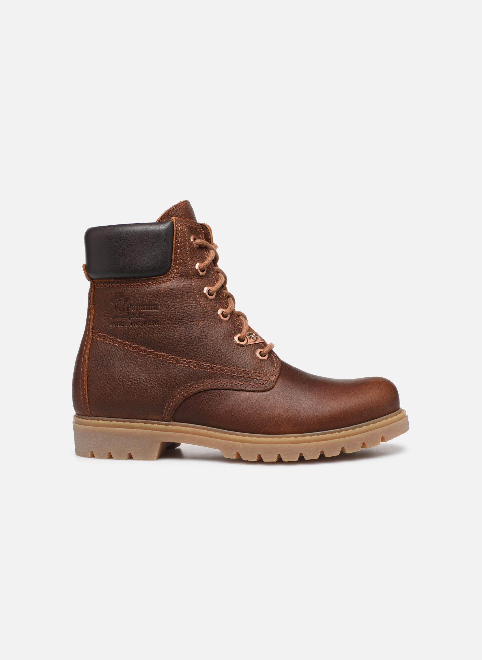 Bottines et boots Panama Jack Panama 03 W Marron vue derrière