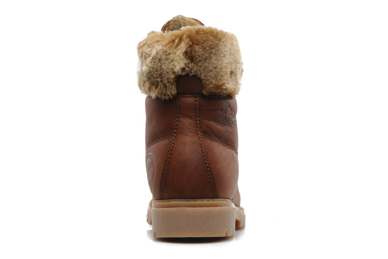 Bottines et boots Panama Jack Felicia Marron vue droite