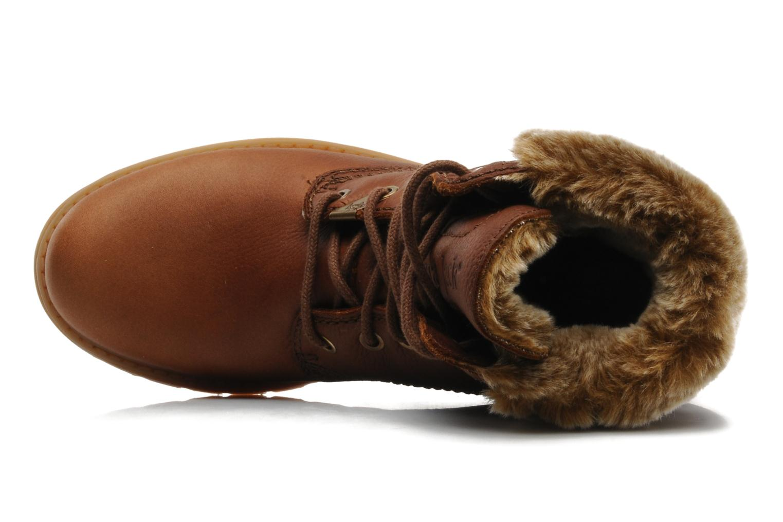 Bottines et boots Panama Jack Felicia Marron vue gauche