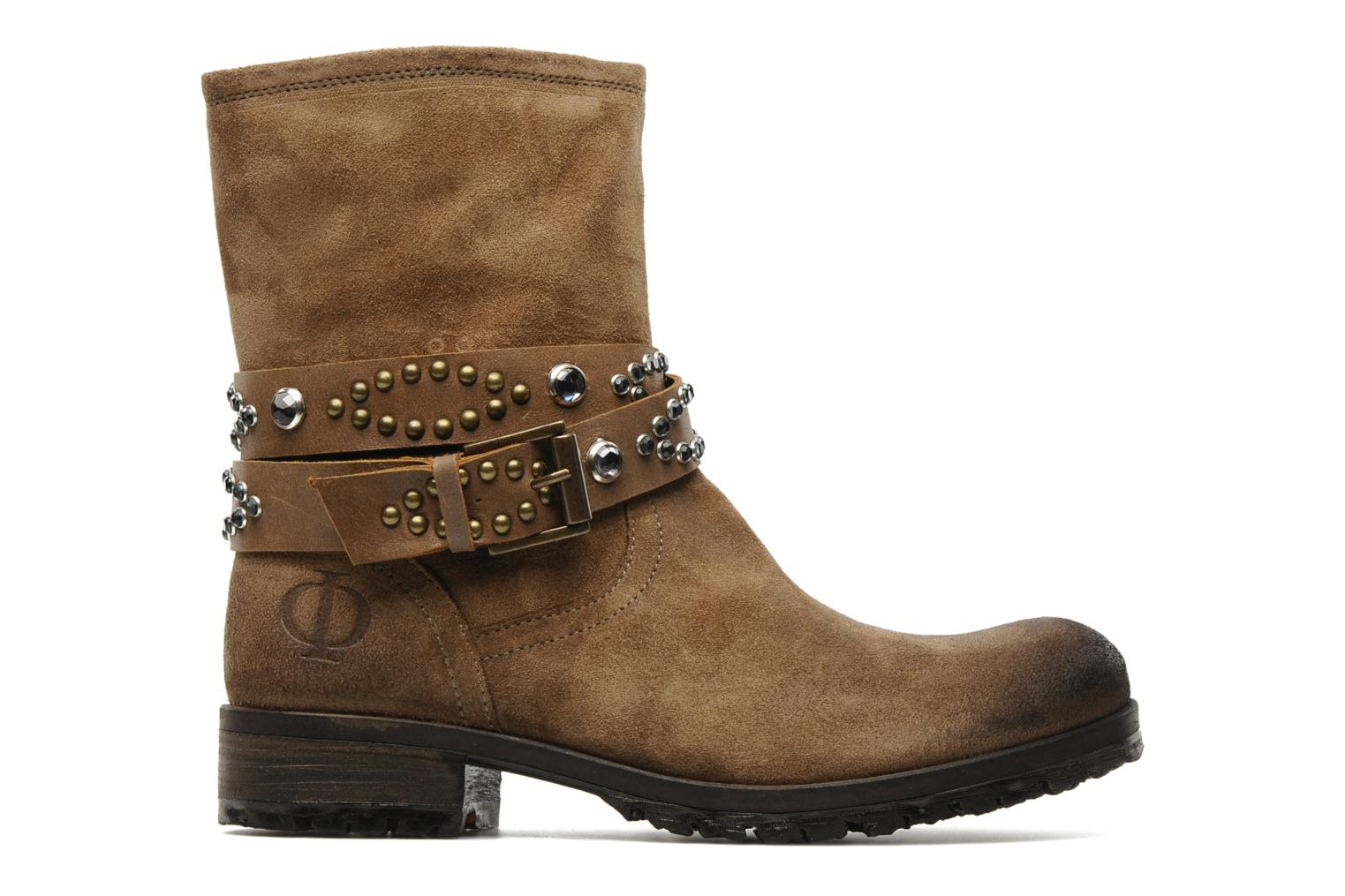Ankle boots Folk'l Olexa Brown back view