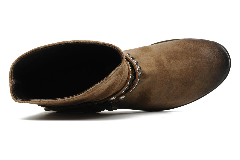 Stiefeletten & Boots Folk'l Olexa braun ansicht von links