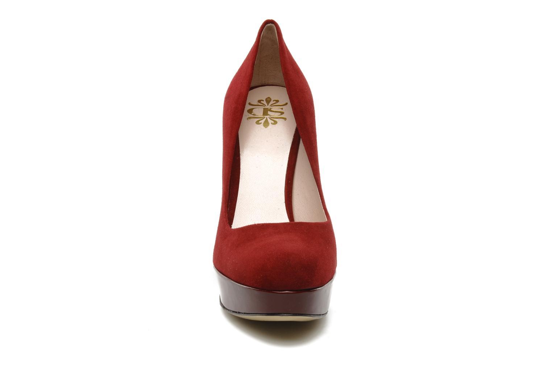 Pumps De Siena shoes Elia weinrot schuhe getragen