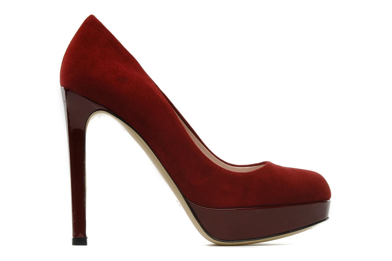 Pumps De Siena shoes Elia weinrot ansicht von hinten