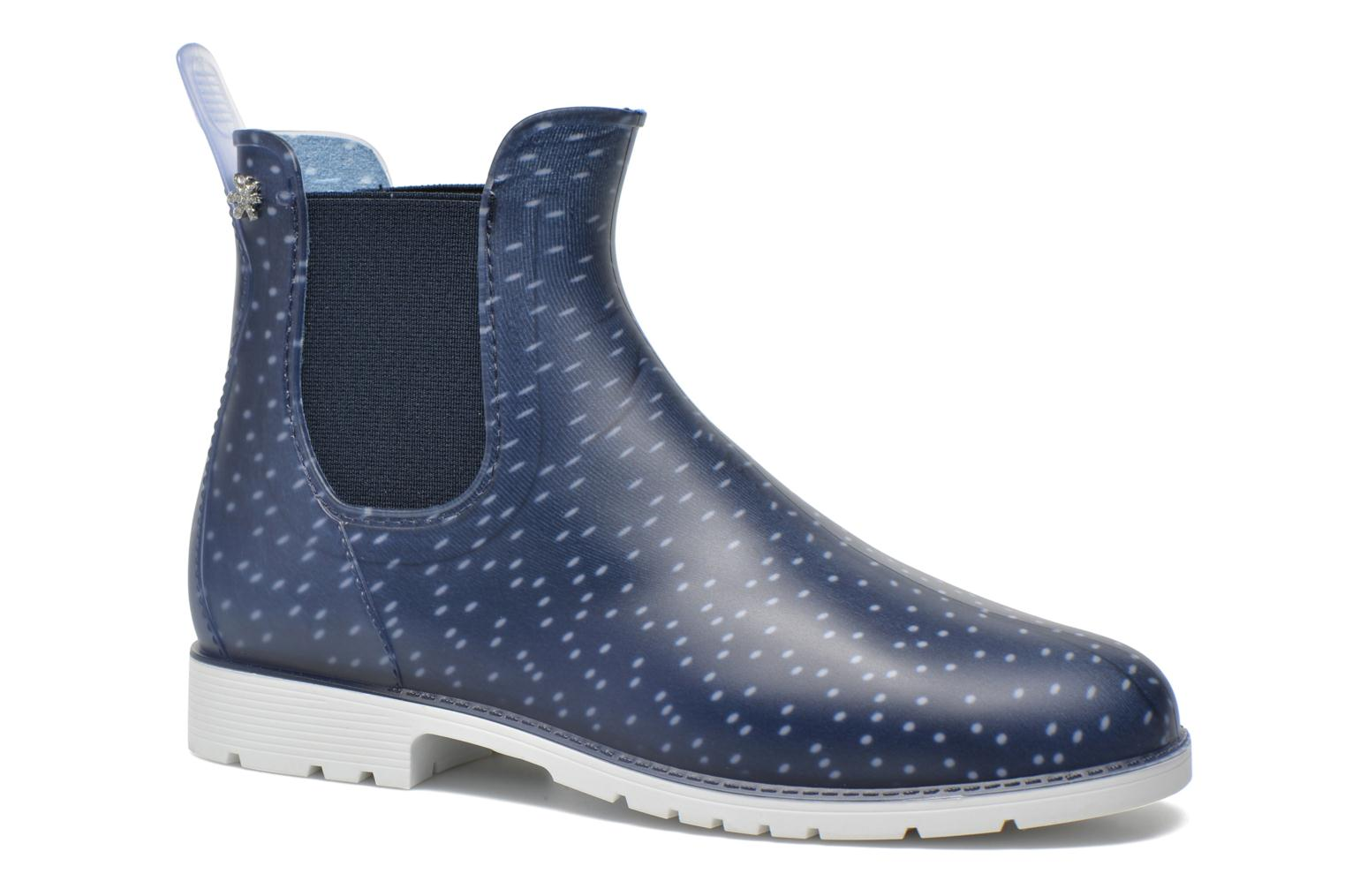 Ankle boots Méduse Jumpy Blue detailed view/ Pair view