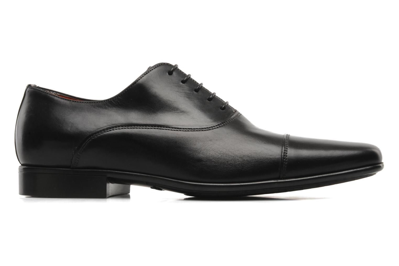 Chaussures à lacets Santoni Evan 11759 Noir vue derrière
