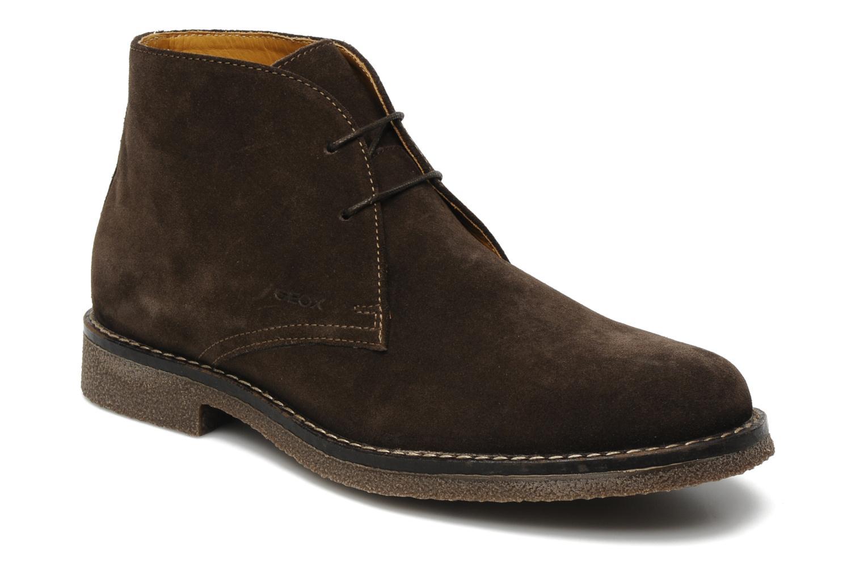 Chaussures Claudio Marron Geox Pour Les Hommes 9G5GV7