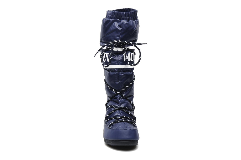 Chaussures de sport Moon Boot Duvet Bleu vue portées chaussures