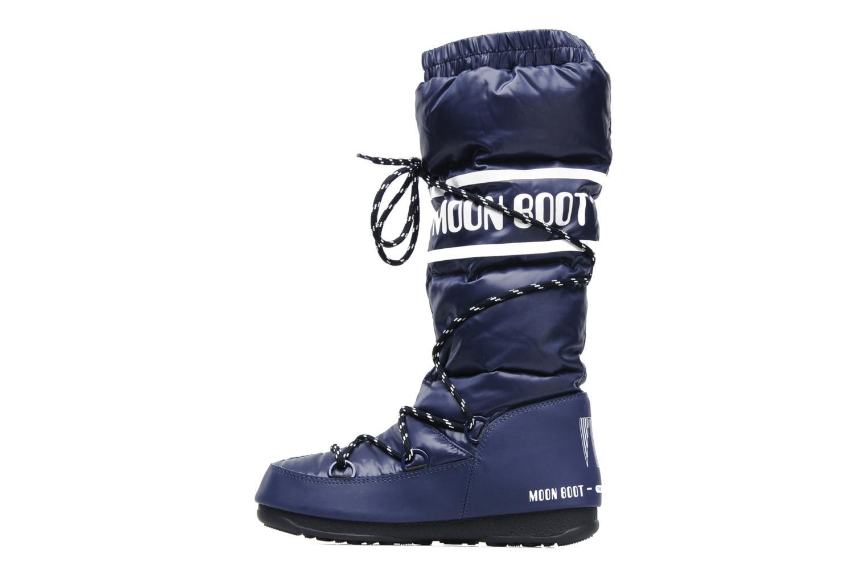 Sportschoenen Moon Boot Duvet Blauw voorkant