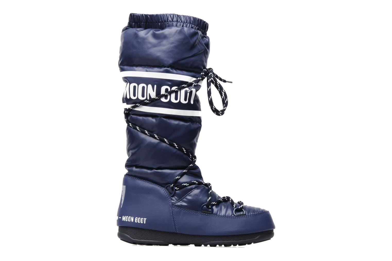 Chaussures de sport Moon Boot Duvet Bleu vue derrière