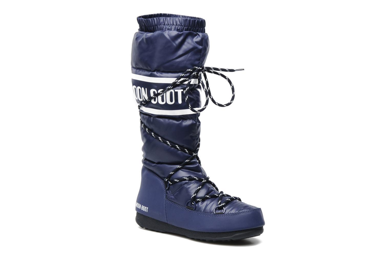 Sportschoenen Moon Boot Duvet Blauw detail
