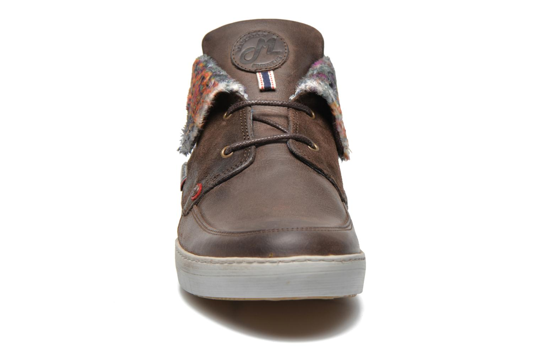 Chaussures à lacets Mascaret Panisse 2 Marron vue portées chaussures