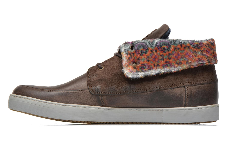 Chaussures à lacets Mascaret Panisse 2 Marron vue face