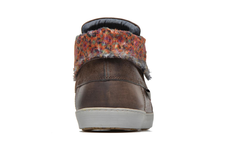 Chaussures à lacets Mascaret Panisse 2 Marron vue droite