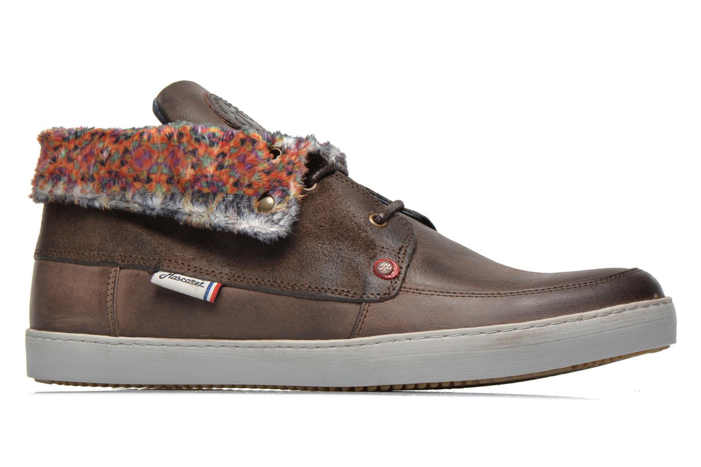Chaussures à lacets Mascaret Panisse 2 Marron vue derrière