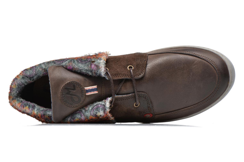 Chaussures à lacets Mascaret Panisse 2 Marron vue gauche
