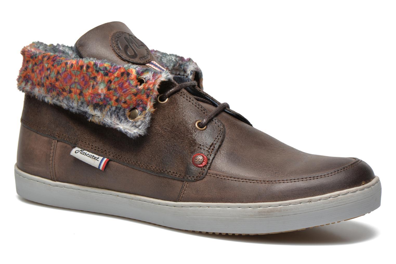 Chaussures à lacets Mascaret Panisse 2 Marron vue détail/paire
