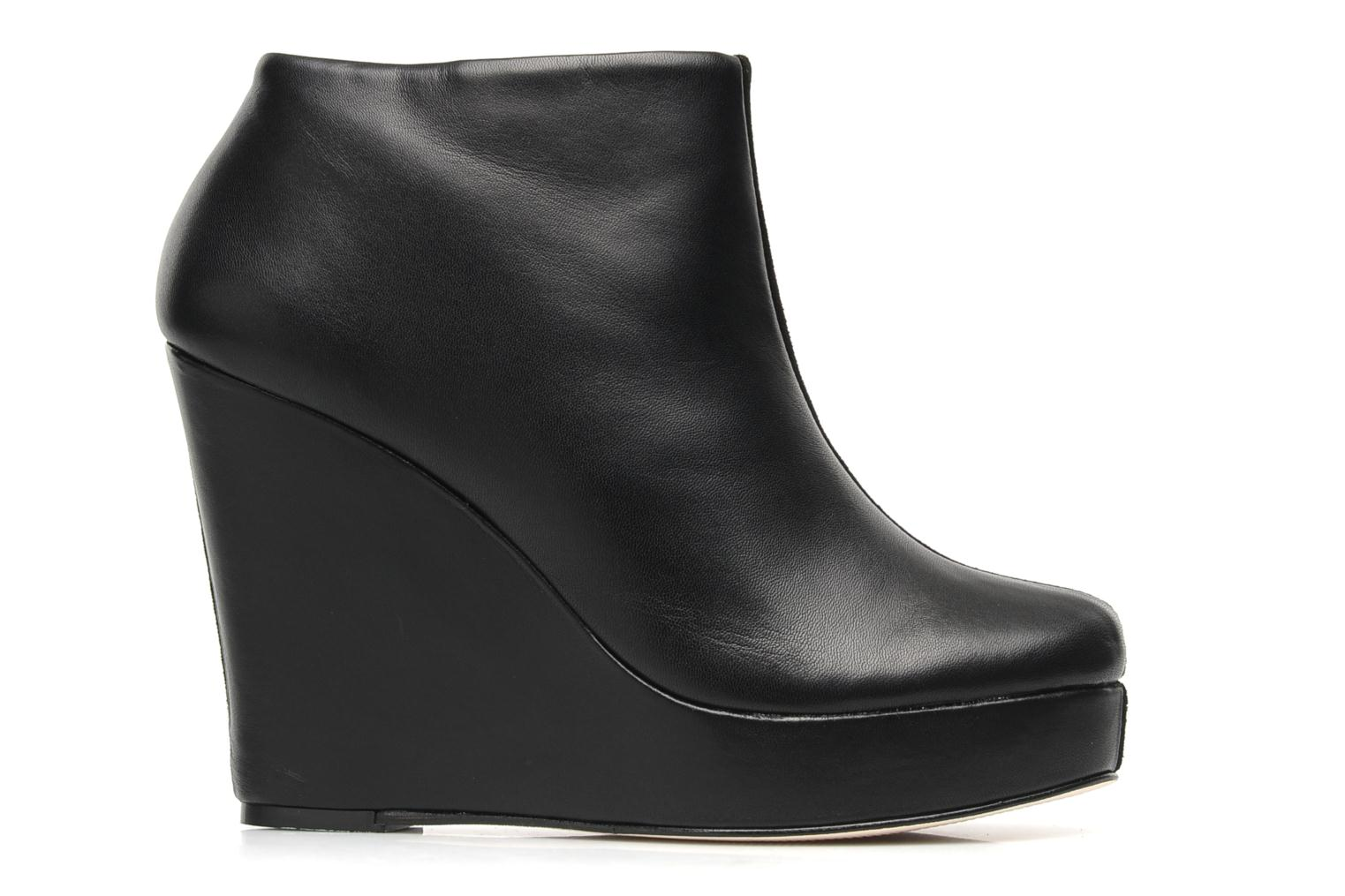 RUBY Black leather/suede