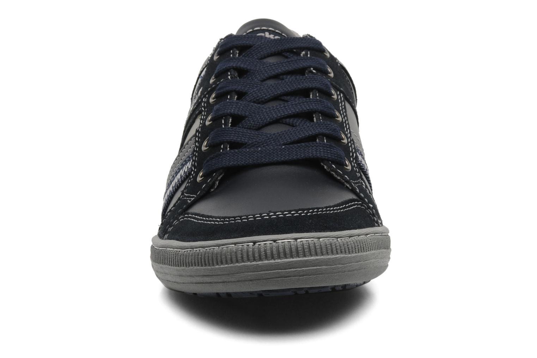 Baskets Dockers Vik Gris vue portées chaussures