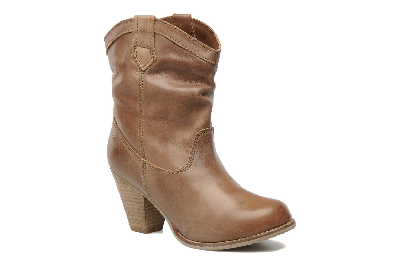 Bottines et boots Coolway PEGASISUN Marron vue détail/paire