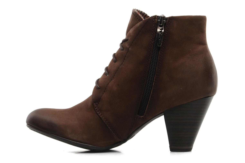 Bottines et boots Tamaris Natallina Marron vue face