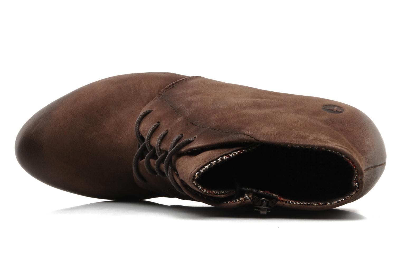 Bottines et boots Tamaris Natallina Marron vue gauche