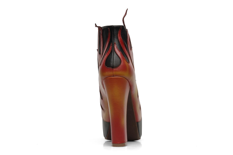 Bottines et boots Jeffrey Campbell LITA FLAME Noir vue droite