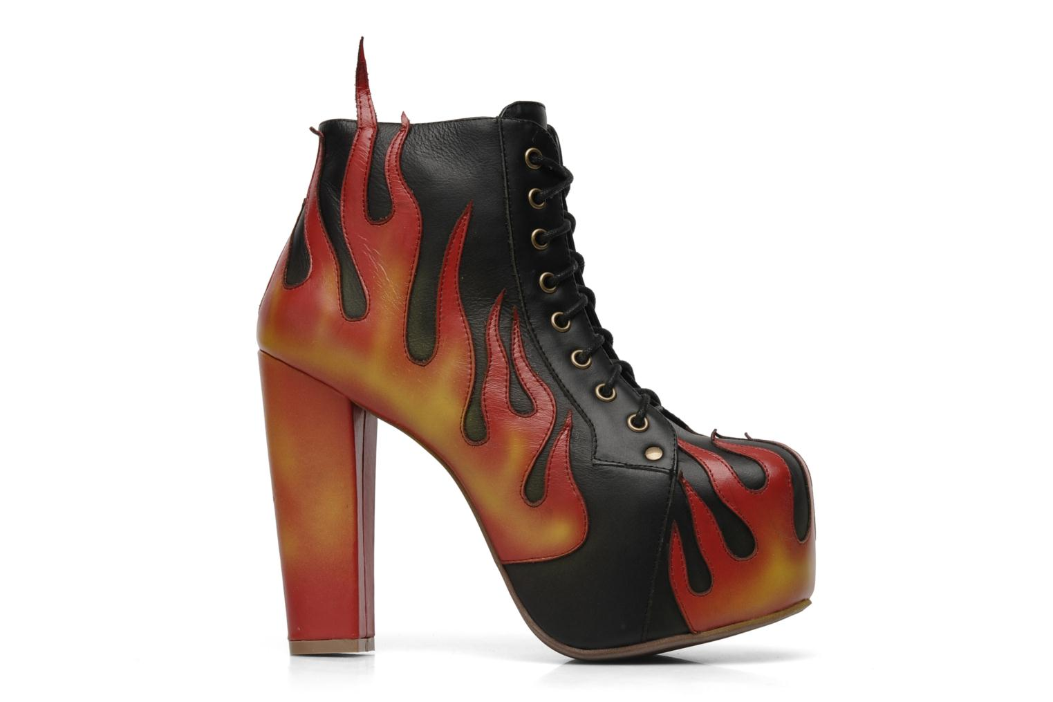 LITA FLAME Blackyellowred