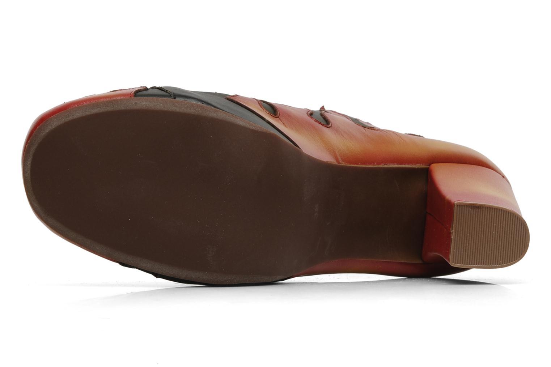 Stiefeletten & Boots Jeffrey Campbell LITA FLAME schwarz ansicht von oben