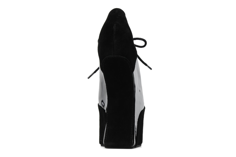 Chaussures à lacets Jeffrey Campbell NITECRAWL Noir vue droite