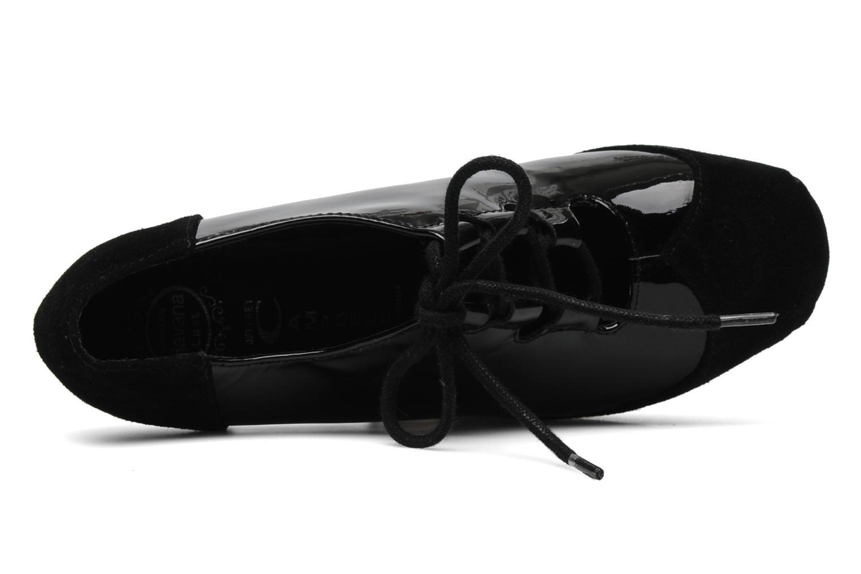Chaussures à lacets Jeffrey Campbell NITECRAWL Noir vue gauche