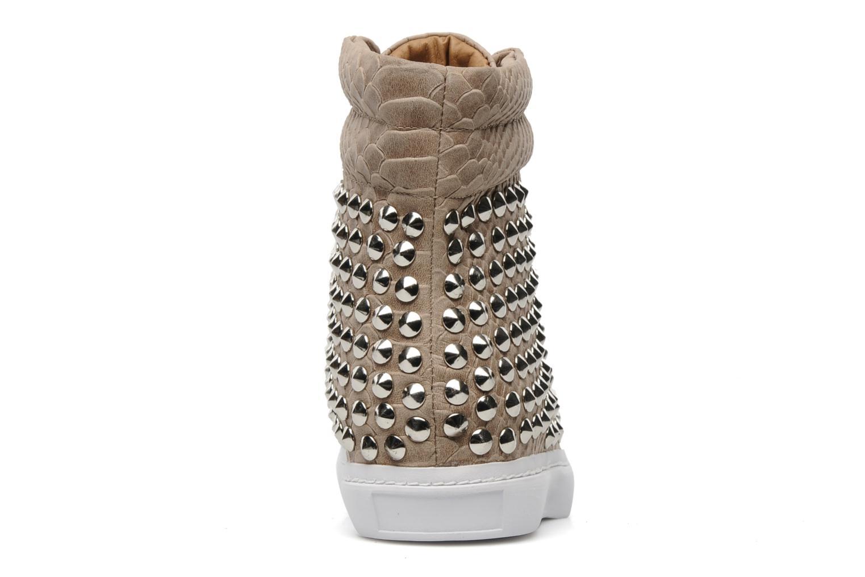 Sneakers Jeffrey Campbell Alva-Hi Beige rechts