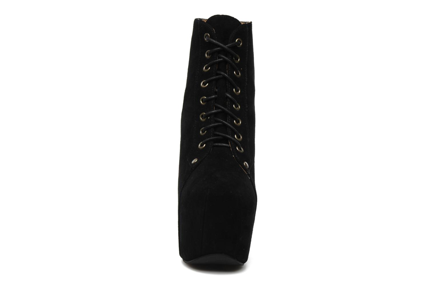 FREDA ALL BLACK SUEDE