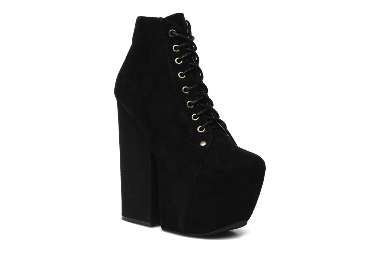 Stiefeletten & Boots Jeffrey Campbell FREDA schwarz detaillierte ansicht/modell
