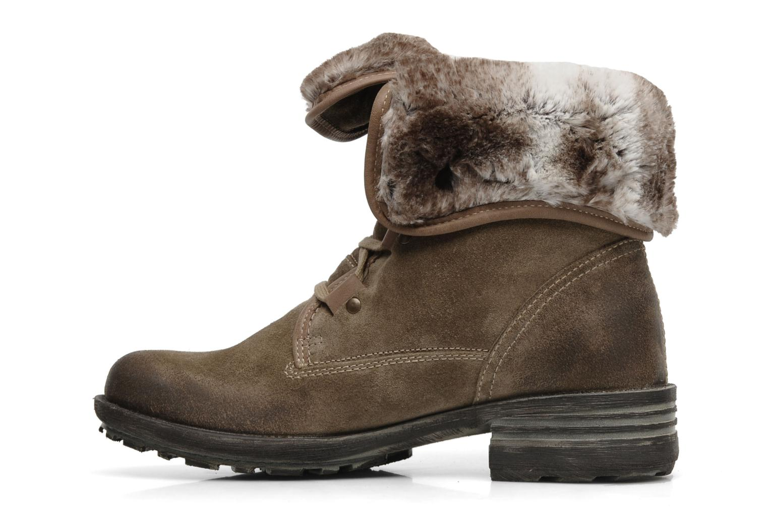 Ankle boots Josef Seibel Sandra 04 Grey front view