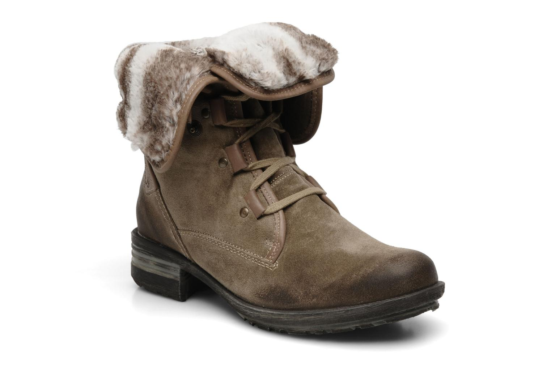 Bottines et boots Josef Seibel Sandra 04 Gris vue détail/paire
