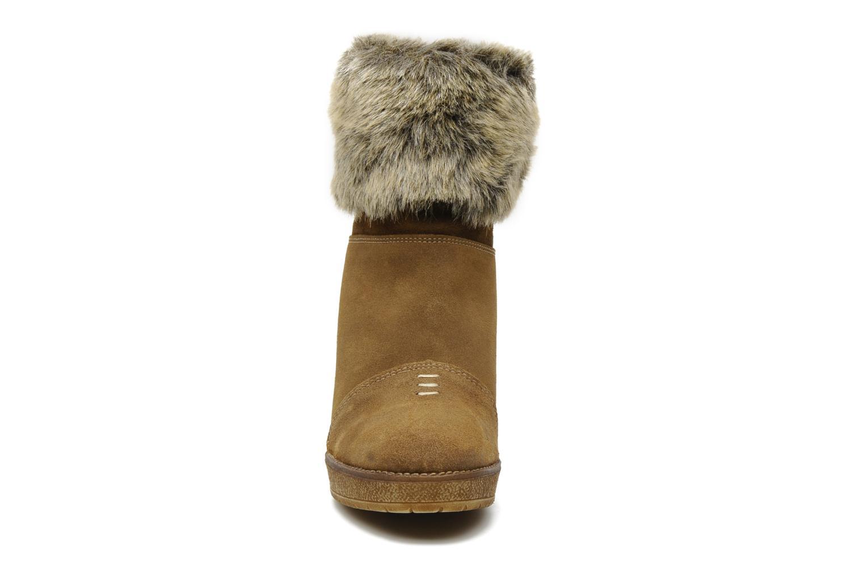 Bottines et boots Freeman T. Porter Paige Marron vue portées chaussures