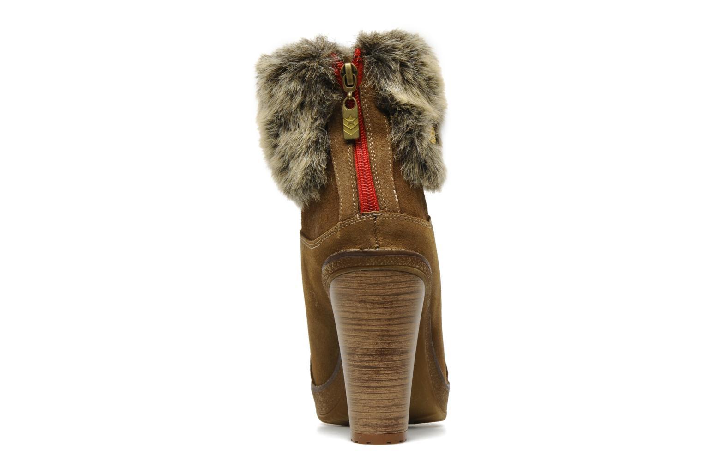 Bottines et boots Freeman T. Porter Paige Marron vue droite