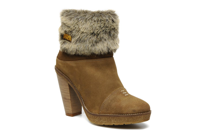 Bottines et boots Freeman T. Porter Paige Marron vue détail/paire