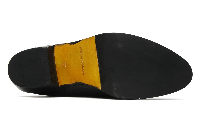 Bottines et boots Melvin & Hamilton Emma 1 Noir vue haut