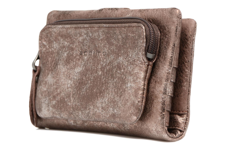 Portemonnaies & Clutches Sabrina Nine braun schuhe getragen