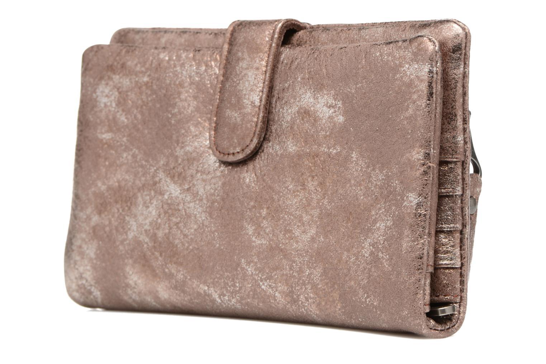 Portemonnaies & Clutches Sabrina Nine braun ansicht von rechts