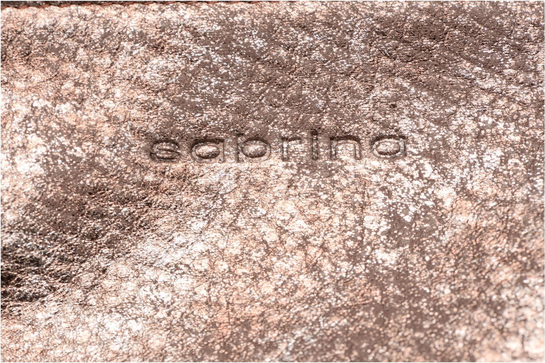 Portemonnaies & Clutches Sabrina Nine braun ansicht von links