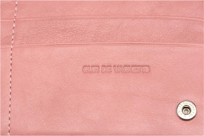 Wallets & cases Sabrina Kate Pink back view