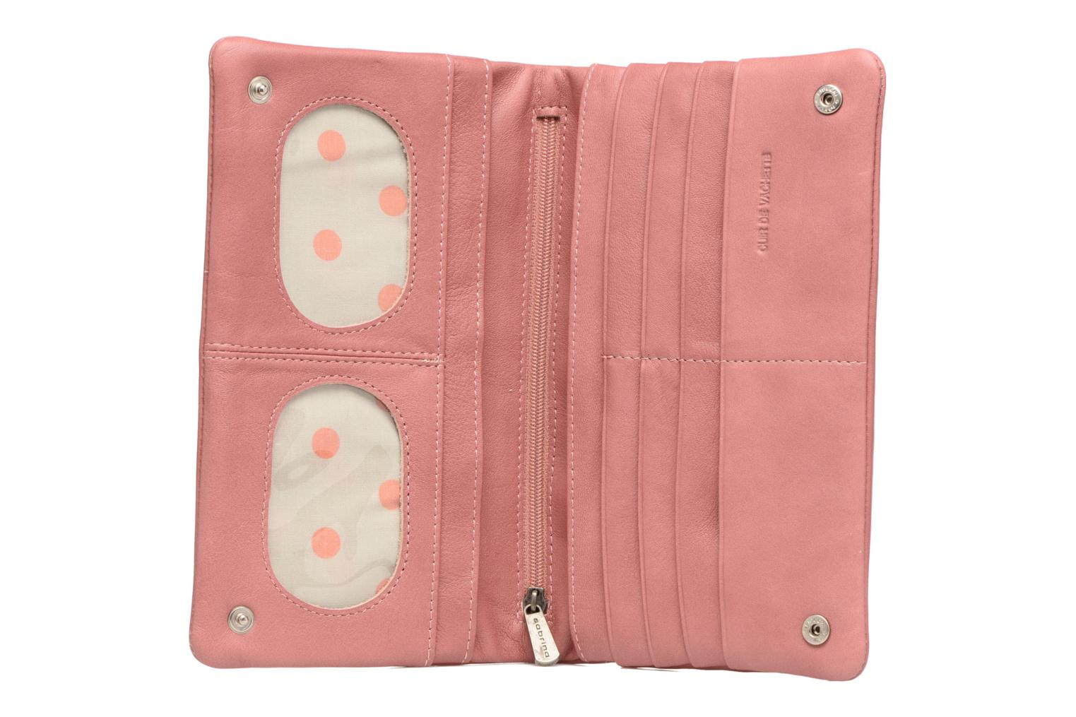 Wallets & cases Sabrina Kate Pink view from the left