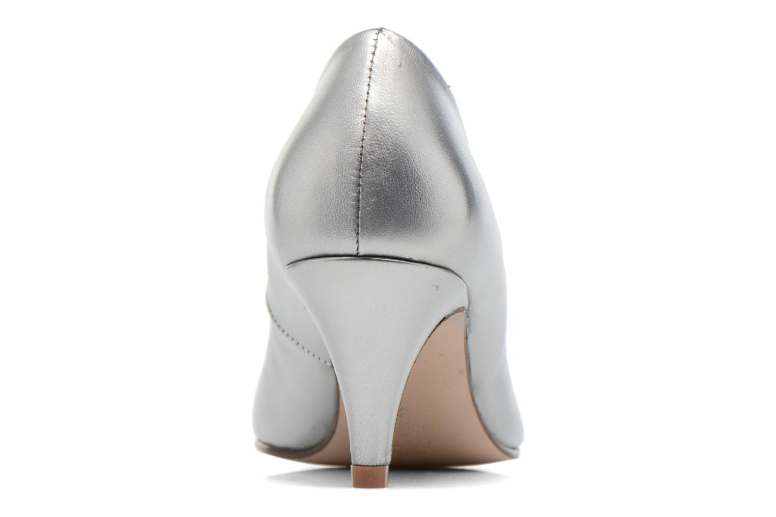 High heels Anna Volodia Ana Silver view from the right