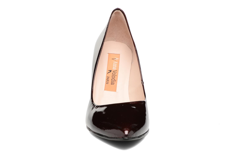 Escarpins Anna Volodia Avita Violet vue portées chaussures