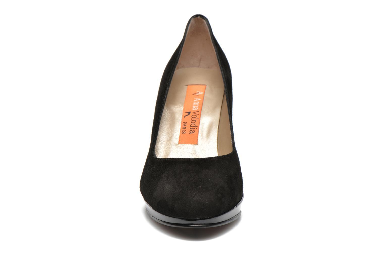 Escarpins Anna Volodia Aranella Noir vue portées chaussures